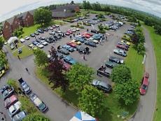 International Weekend Aerial Shot