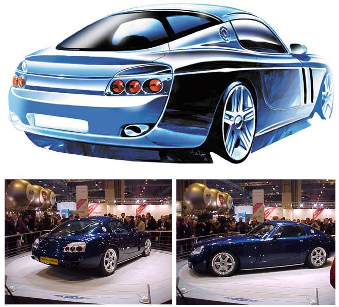 The Jensen S-V8